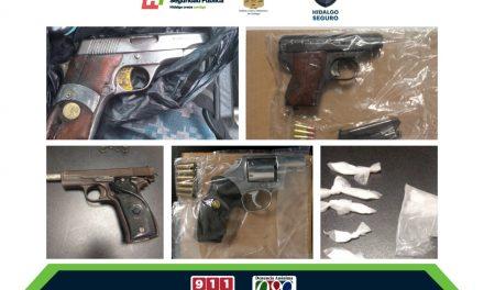 Detienen a 6 personas armadas en diferentes municipios