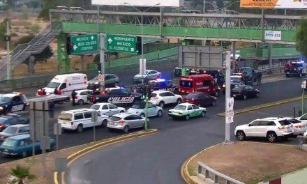 Accidente en bulevar Felipe Ángeles deja tres lesionados
