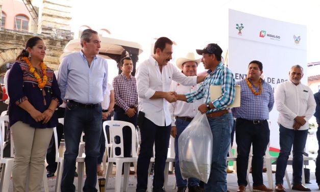 Hidalgo Te Nutre apuesta por la seguridad alimentaria de 55 000 familias