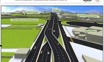 En breve iniciará la construcción del distribuidor vial del bulevar Colosio entronque con Bonfil
