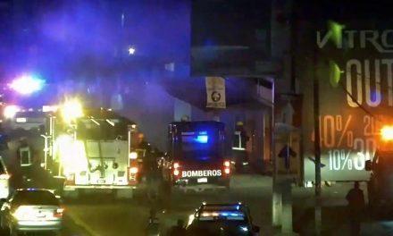 Se incendió local de carnitas en San Antonio