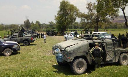 Retienen a militares en Hidalgo al intentar asegurar huachicol