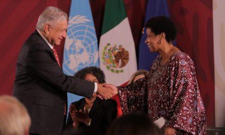 Presentan iniciativa Spotlight para eliminar violencia contra las mujeres