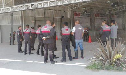 Huelga en Toyota Pachuca por salarios bajos y falta de prestaciones