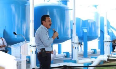 En marcha, planta potabilizadora de agua en Progreso