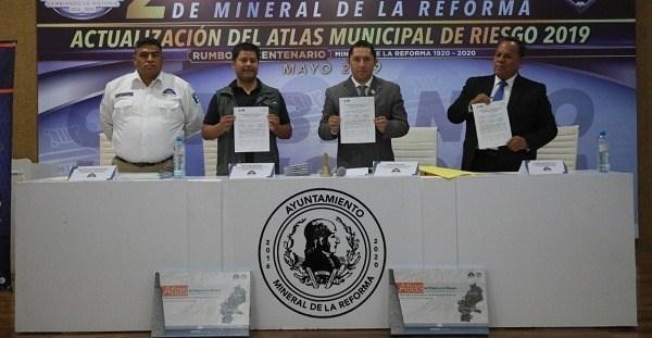 Atlas de riesgo en Mineral de la Reforma prevendrá desastres