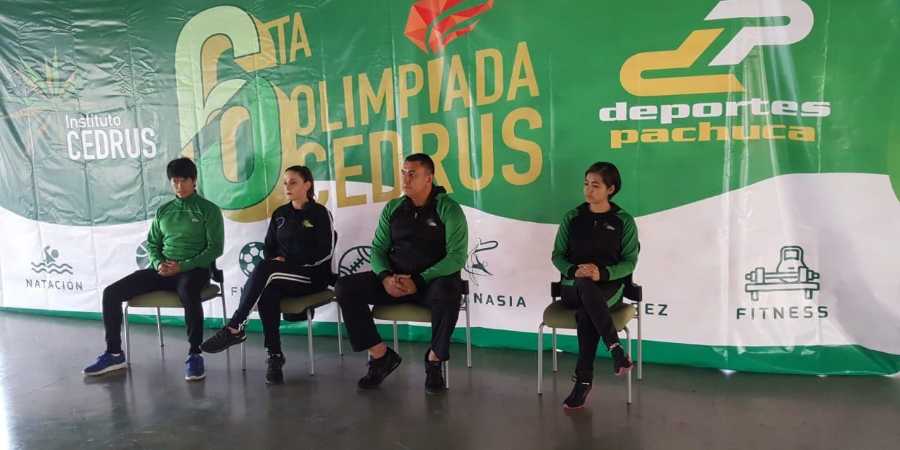 Mañana inicia sexta edición de la Olimpiada Cedrus