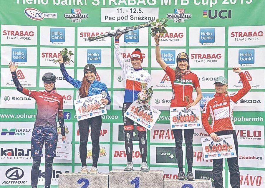 Bronce para Daniela Campuzano en Copa de Ciclismo de Montaña en República Checa