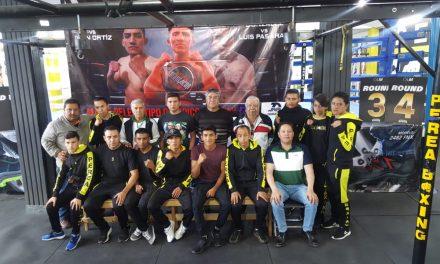 Todo listo para la Noche de Campeones en Gym Perea Boxing