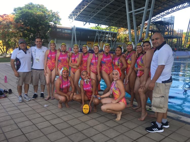 Polo acuático con cuarto lugar en olimpiada nacional