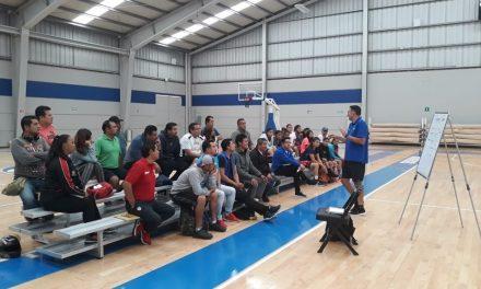 Sergio Molina impartirá tercer campamento de basquetbol, ahora en Tepeapulco
