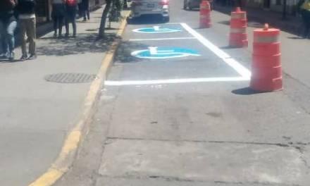 Van por más cajones de estacionamiento para personas con discapacidad