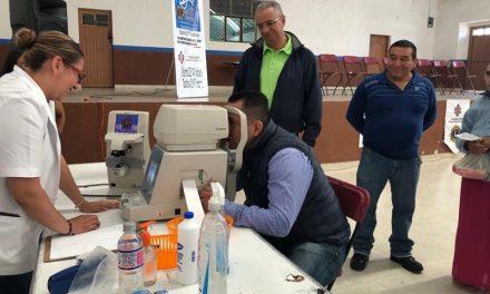Implementan Segunda Campaña de Lentes Gratuitos en Zapotlán de Juárez