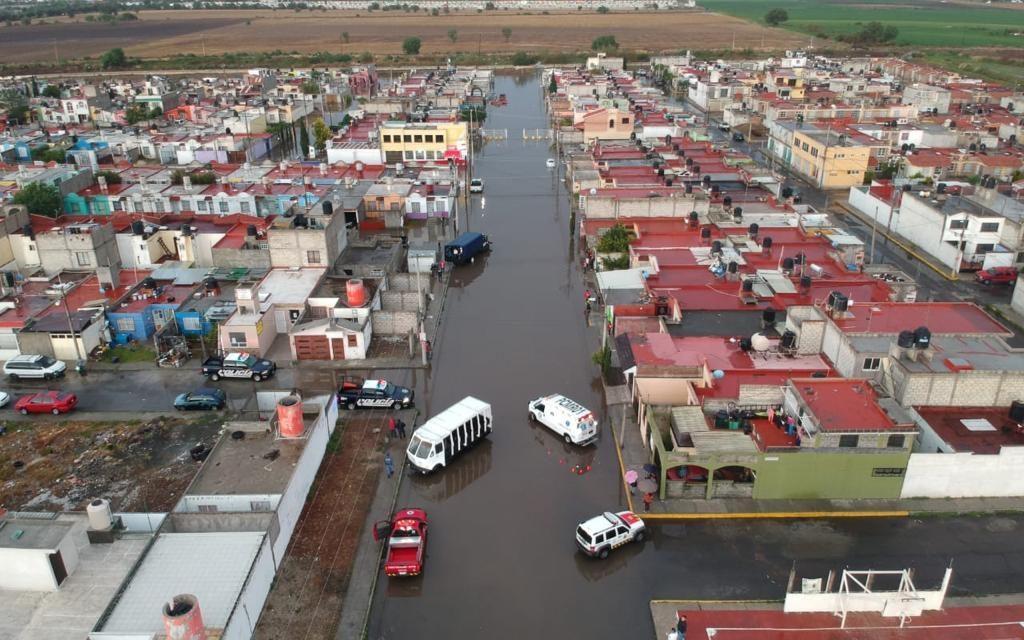 Gobierno estatal atiende afectaciones por lluvias