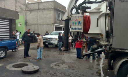 Recolectan 3 toneladas de basura por Km en drenes de Pachuca