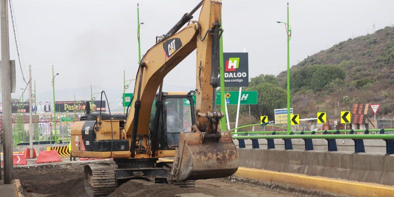 Comienzan trabajos de modernización en lateral de la Supervía Colosio