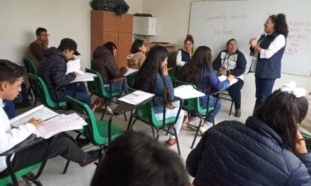 SEPH aplica evaluación diagnóstica de ingreso a educación media superior