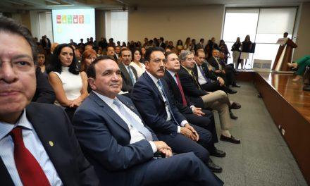 Refrenda Omar Fayad compromiso con la agenda 2030 de la ONU