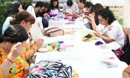 UPP realiza taller Rescate de Bordados Tradicionales