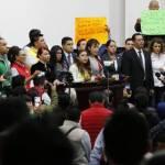 Suspenden sesión legislativa por ausencia de Morena
