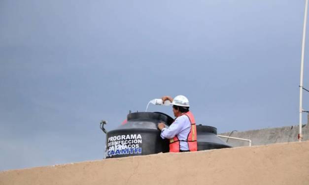Lavarán y desinfectarán tinacos y cisternas de escuelas públicas en Tizayuca