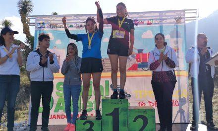 Rodríguez y Ávila, campeones del tercer serial atlético Dejando Huella en Hidalgo