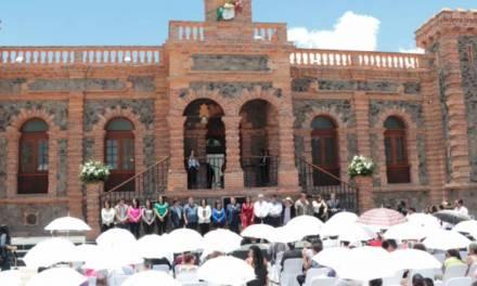 Inauguran restauración y ampliación de la Presidencia Municipal de Villa de Tezontepec