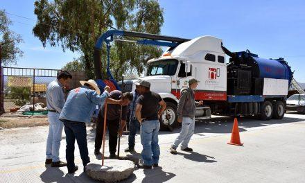 Previenen inundaciones en Zapotlán de Juárez