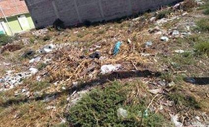 En Tizayuca, convierten lotes baldíos en depósitos de basura