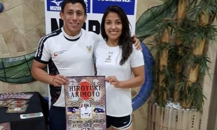 Luz Olvera y Nabor Castillo ya están en España