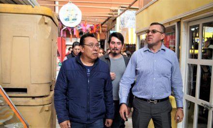 Alcalde de Tepeapulco busca ordenar el comercio