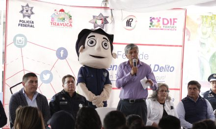 Realizan Feria de la Prevención del Delito en Tizayuca