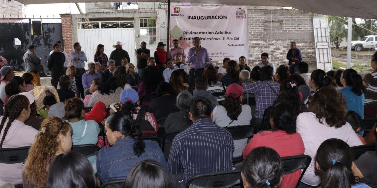 Alcalde de Tizayuca reconoce rezago en la colonia El Mío Cid