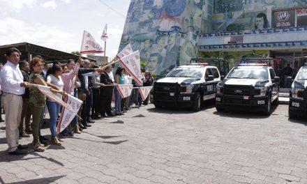 Estrenan en Tizayuca nuevas patrullas