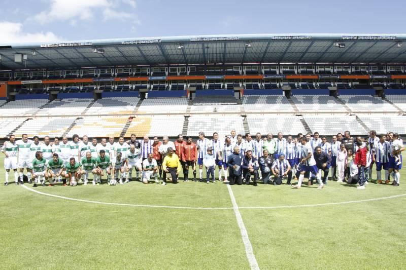 Leyendas Tuzas golearon 4-0 a Zacatepec