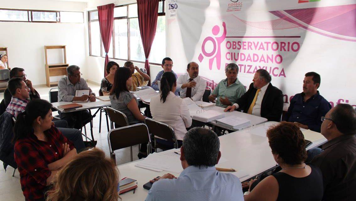 Observatorio de Tizayuca busca evaluar las áreas de Transparencia de 84 municipios