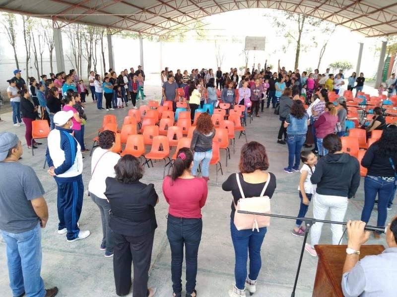 Brindan plática para prevenir violencia entre alumnos de secundaria en Tizayuca