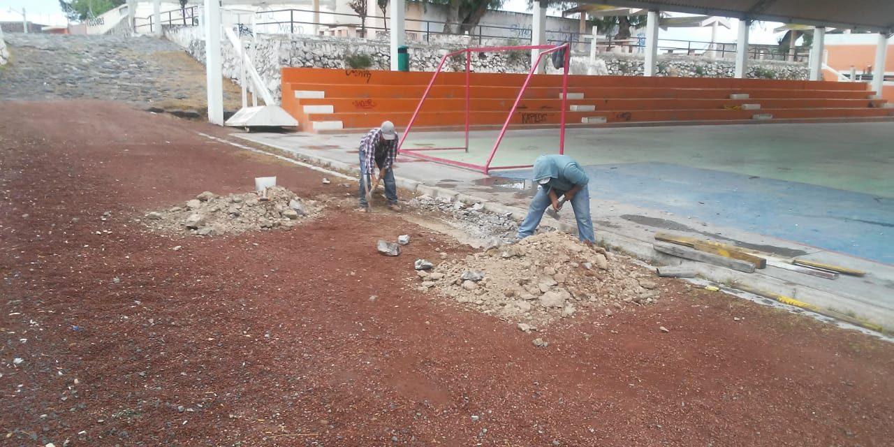 Mejoran espacios públicos en Tolcayuca