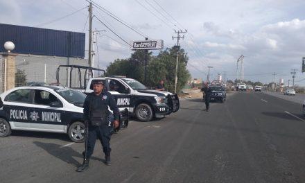 Incrementan medidas de seguridad en el Valle de Tizayuca