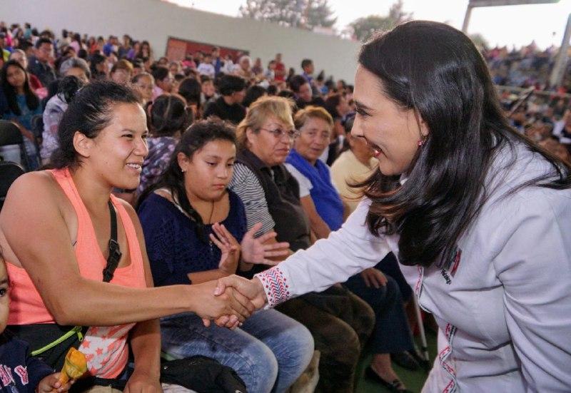 Paridad, el principio del cambio: Érika Rodríguez