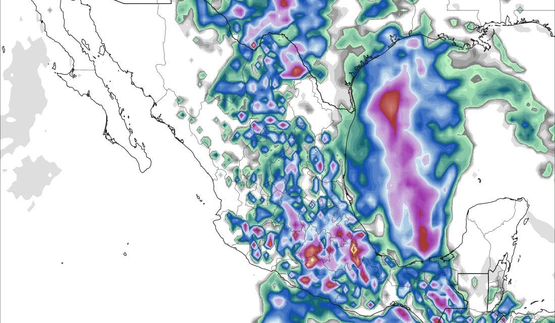 Potencial de lluvias se mantiene las próximas 24 horas