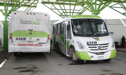 Tuzobús acumuló multas por 260 millones de pesos