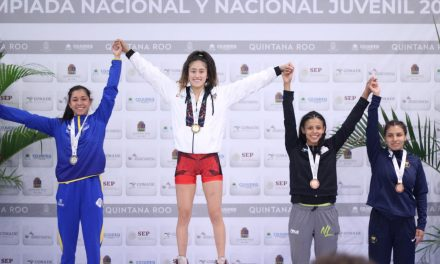 Zeltzin Hernández conquistó el oro en SNC
