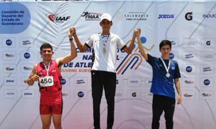 Neri Franco ganó oro en el Campeonato Nacional Sub 20; tiene pase a internacional