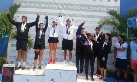 Tenistas se despiden con cuatro medallas de Olimpiada Nacional