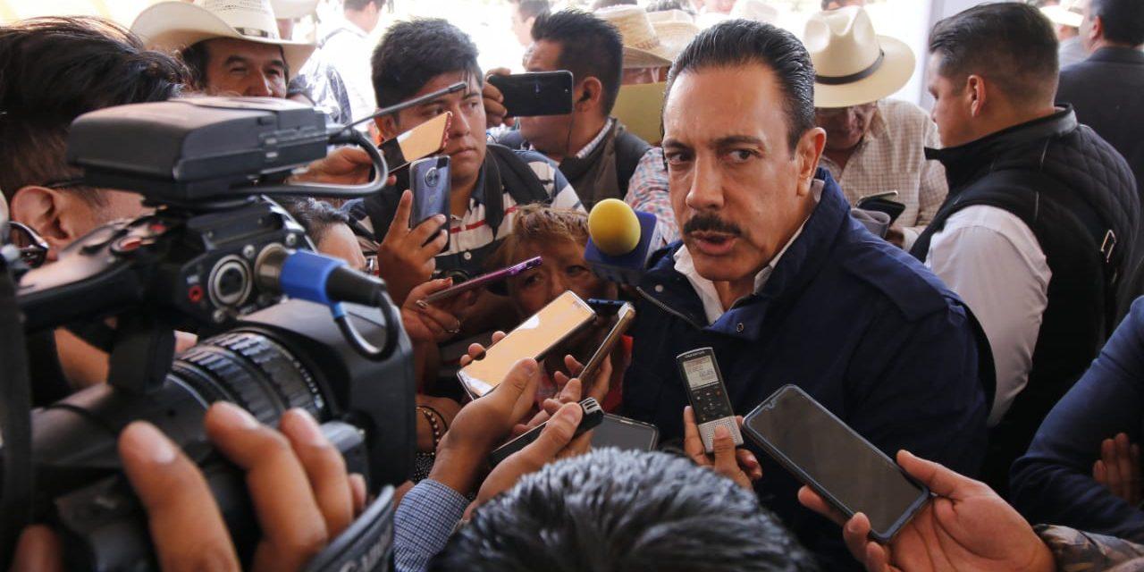 Fayad afirma colaboración con la federación para enfrentar problema de huachicol