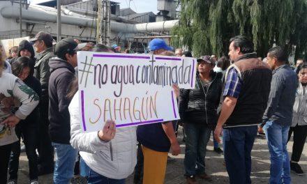 Habitantes de Tepeapulco denunciaron que reciben agua contaminada