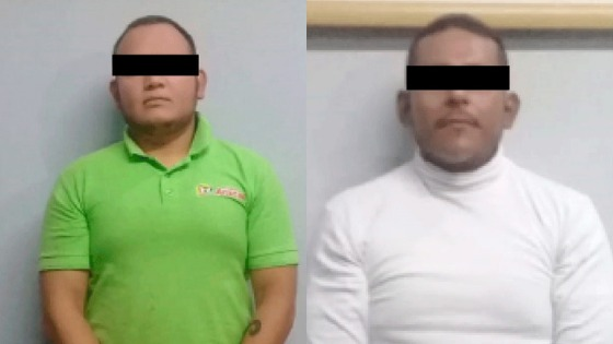 Seguridad Pública estatal detiene a dos tras presunto asalto en Huichapan