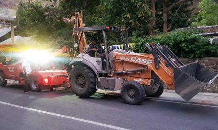 Recuperan en Hidalgo maquinaria robada en Querétaro