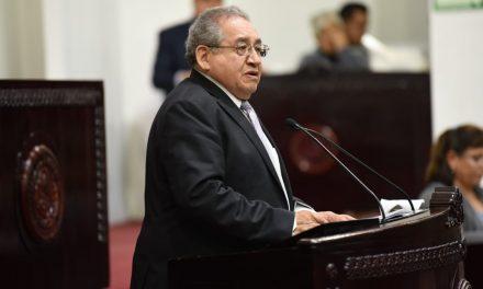 Segob respalda a Congreso, afirma Ricardo Baptista